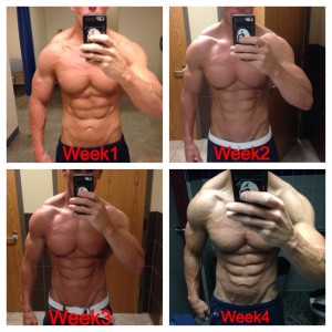 Another HF client, Dusty Starr. 5 weeks post show he gained 6lbs while we added over 600 calories to his diet.