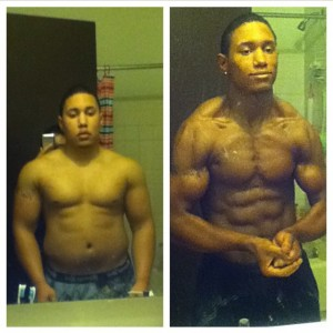 Stephen Suarez with a HUGE transformation.