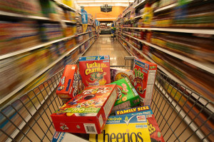 Kroger - Cereal Shopping Cart